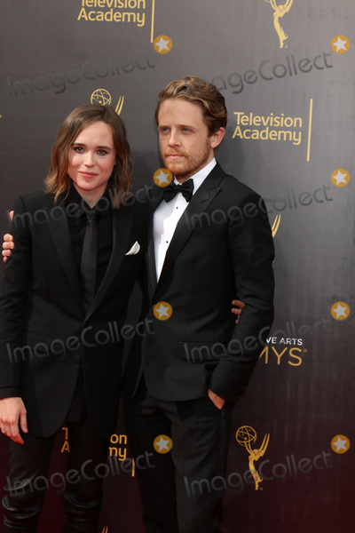 Ellen Page, Ian Daniel Photo - Ellen Page, Ian Daniel at the 2016 Primetime Creative Emmy Awards, Microsoft Theater, Los Angeles, CA 09-11-16