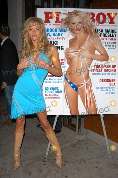 Photos And Pictures Nikki Ziering At The Release Party For Nikki Zierings July 2003 Playboy Cover The Nacional Hollywood Ca
