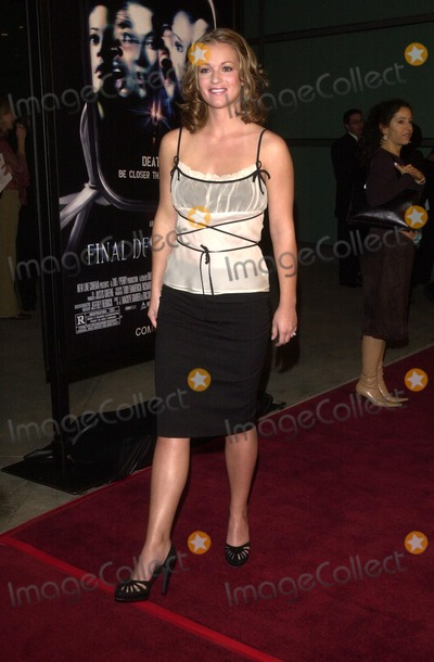 "A.J. Cook, A. J. Cook, Aj Cook, AJ Cook, A.J Cook Photo - A.J. Cook at the premiere of New Line Cinema's ""Final Destination 2"" at the Cinerama Dome in Hollywood, CA 01-30-03"