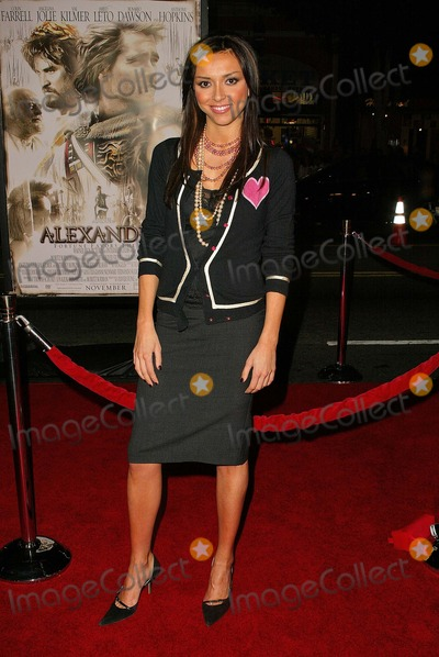 "Giuliana DePandi, Giuliana De Pandi Photo - Giuliana DePandi at the world premiere of Warner Bros. ""Alexander"" at the Chinese Theater, Hollywood, CA 11-16-04"