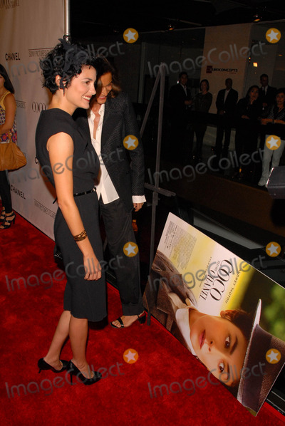 Anne Fontaine, Audrey Tautou, Coco Photo - Audrey Tautou and Anne Fontaine