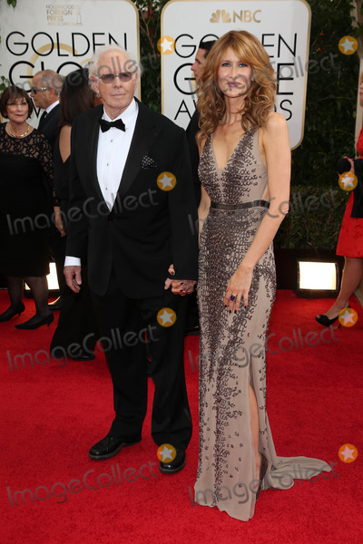Bruce Dern, Laura Dern Photo - Bruce Dern, Laura Dern at the 71st Annual Golden Globe Awards Arrivals, Beverly Hilton Hotel, Beverly Hills, CA 01-12-14