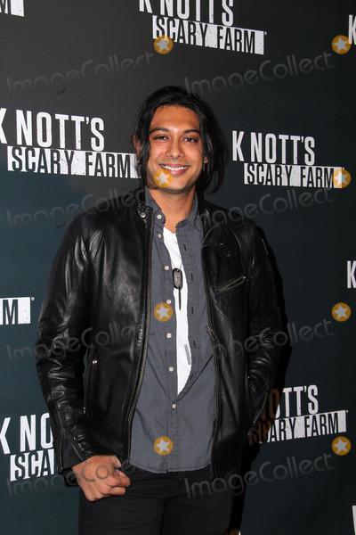 Abhi Sinha, Michael Paré Photo - Abhi Sinha at the Knott's Scary Farm Celebrity VIP Opening, Knott;s Berry Farm, Buena Park, CA 10-02-14