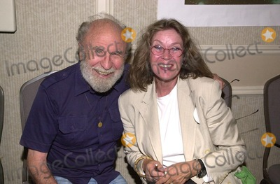 Barry Morse, Beverly Garland Photo - Barry Morse and Antoinette Bower at a Twilight Zone reunion and convention at the Beverly Garland Holiday Inn, North Hollywood, CA 08-24-02