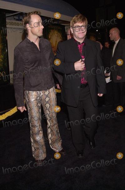 "Elton John, David Furnish Photo -  Elton John and David Furnish at the premiere of Dreamwork's ""THE ROAD TO EL DORADO"" in Westwood, 03-29-00"