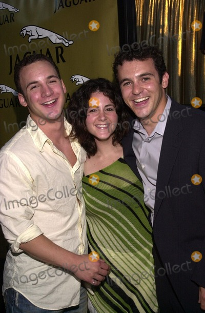 "Ben Savage, Fred Savage Photo - Ben Savage, sister Kala Savage and brother Fred Savage at the premiere of New Line's ""Austin Powers In Goldmember"" at the Universal Amphitheater, Universal City, CA 07-22-02"