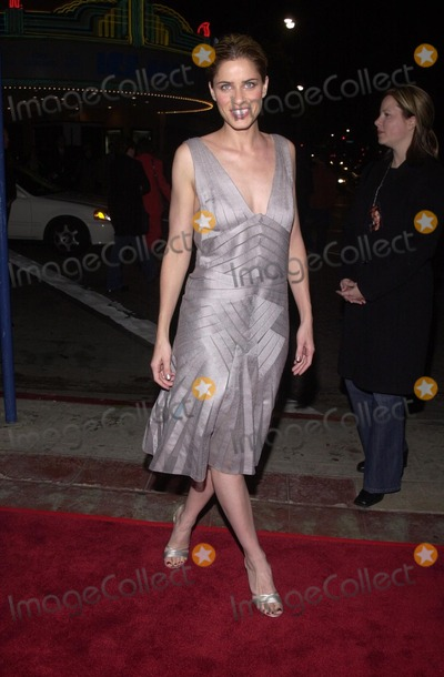 """Amanda Peet, Amanda Peete Photo - Amanda Peet at the premiere of the 20th Century Fox movie """"High Crimes"""" in Westwood, 04-03-02"""