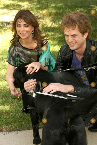 Paula Abdul, Paula Guilló Photo - Paula Abdul and Scott Macintrye at the Kick Off for National Guide Dog Month. Guide Dogs of America, Sylmar, CA. 05-08-09
