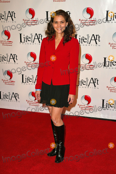 Arloa Reston, The Cast Photo - Arloa Reston at the Red Party to Benefit the Life Through Art Foundation, hosted by the cast of 8 Simple Rules, Shrine Auditorium, Los Angeles, CA. 12-04-04