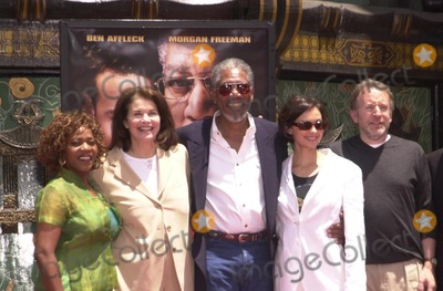 Alfre Woodard, Sherry Lansing, Morgan Freeman, Ashley Judd, Frank Darabont Photo - Alfre Woodard, Sherry Lansing, Morgan Freeman, Ashley Judd and Frank Darabont at Freeman's hand and foot print ceremony at the Chinese Theater, Hollywood, 06-05-02