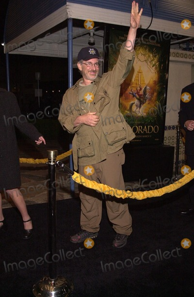 "Steven Spielberg Photo -  Steven Spielberg at the premiere of Dreamwork's ""THE ROAD TO EL DORADO"" in Westwood, 03-29-00"