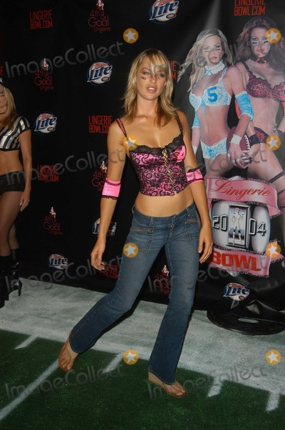 Cassie Photo - Cassie Lane at the Lingerie Bowl 2004 Launch Party, Fenix Room, Argyle Hotel, West Hollywood, CA 09-17-03