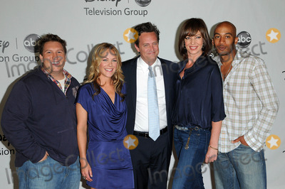 Allison Janney, James Lesure, Matthew Perry, Andrea Anders, Nate Torrence Photo - Nate Torrence, Andrea Anders, Matthew Perry, Allison Janney and James Lesure at the Disney ABC Television Group Summer 2010 Press Tour, Beverly Hilton Hotel, Beverly Hills, CA. 08-01-10
