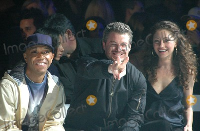 Eric Dane, Rebecca Gayheart, Russell Simmons, RUSSEL SIMMONS Photo - Russell Simmons with Eric Dane and Rebecca Gayheart