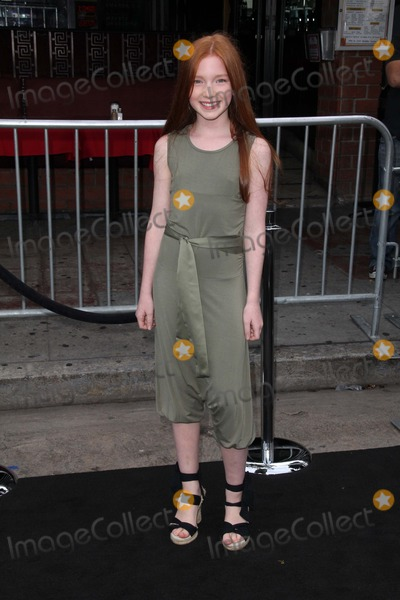 """Annalise Basso Photo - Annalise Basso at the """"Super 8"""" Los Angeles Premiere, Regency Village Theatre, Westwood, CA. 06-08-11"""