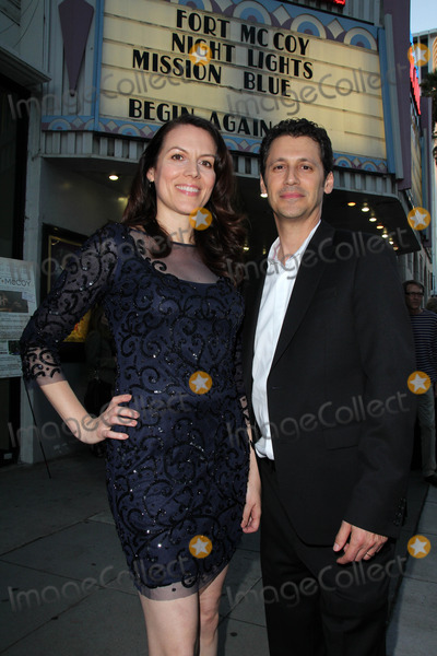 """Andy Hirsch, Kate Connor Photo - Kate Connor, Andy Hirsch at the """"Fort McCoy"""" Premiere, Music Hall Theater, Beverly Hills, CA 08-15-14"""