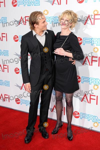 Jesse Johnson, Melanie Griffith, Melanie Griffiths Photo - Jesse Johnson and Melanie Griffith at the 37th Annual AFI Lifetime Achievement Awards. Sony Pictures Studios, Culver City, CA. 06-11-09