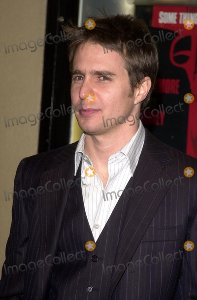 """Sam Rockwell Photo - Sam Rockwell at the premiere of Miramax's """"Confessions of a Dangerous Mind"""" at the Mann Bruin Theater, Westwood, CA 12-11-02"""