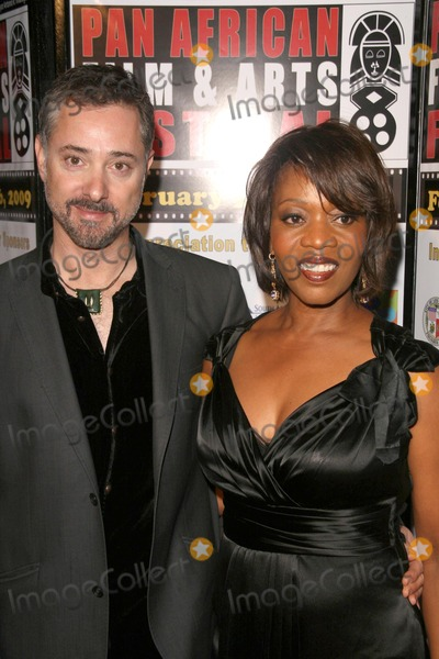Alfre Woodard, Anthony Fabian Photo - Anthony Fabian and Alfre Woodardat the Pan African Film Festival Centerpiece Screening of 'Skin'. Culver Plaza Theatre, Culver City, CA. 02-11-09