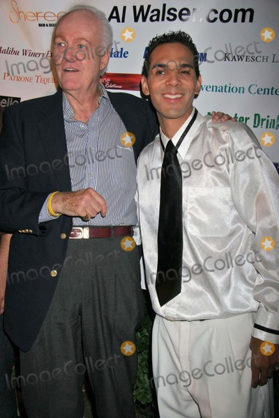 Al Walser Photo - Angus Duncan and Al Walser