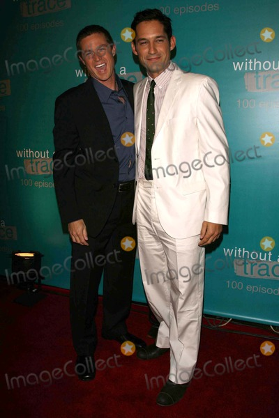 """Eric Close, Enrique Murciano Photo - Eric Close and Enrique Murcianoat the """"Without A Trace"""" 100th Episode Celebration Party. Cabana Club, Hollywood, CA. 09-09-06"""