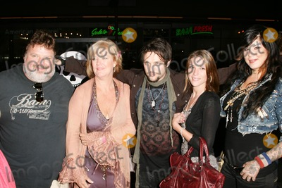 """Phil Margera, April Margera, Bam Margera, Grauman's Chinese Theatre Photo - Phil Margera, April Margera and Bam Margera with guestsat the premiere of """"Jackass: Number Two"""". Grauman's Chinese Theatre, Hollywood, CA. 09-21-06"""