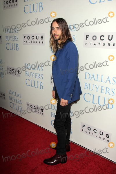 """Jared Leto Photo - Jared Leto at the """"Dallas Buyers Club"""" Los Angeles Premiere, Academy of Motion Picture Arts and Sciences, Beverly Hills, CA 10-17-13"""