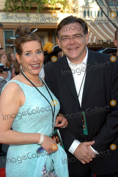 "Phyllis Logan Photo - Kevin R. McNally and Phyllis Logan at The World Premiere of ""Pirates of the Caribbean: The Curse of the Black Pearl"", Disneyland, Anaheim, Calif., 06-28-03"
