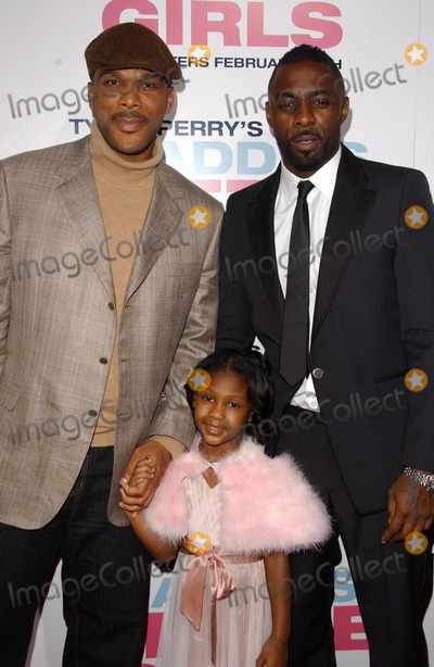 Idris Elba, Tyler Perry Photo - Tyler Perry with Lauryn Alisa McClain and Idris Elba