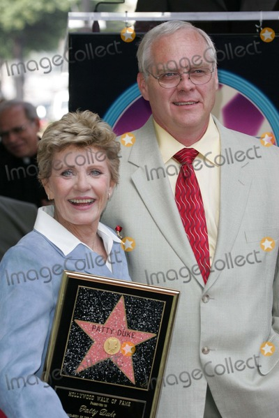 Patty Duke, Michael Pierce Photo - Patty Duke and husband Michael Pierce at Duke's induction into the Hollywood Walk of Fame, Hollywood, CA 08-17-04