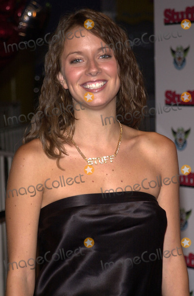 """Amber Brkich Photo - Amber Brkich at Stuff Magazine's """"Stuffland"""" Party at the Pacific Park, Santa Monica Pier, 07-18-01"""