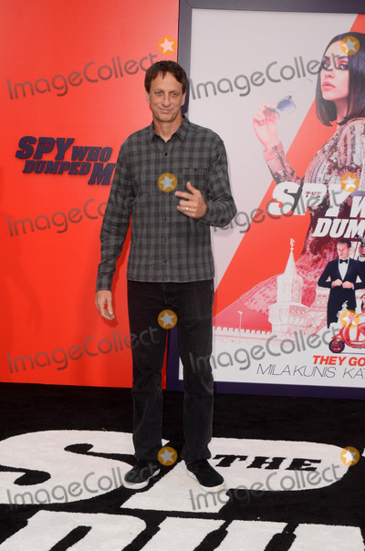 "Tony Hawk, TONY HAWKE, Tony Hawks Photo - Tony Hawk at ""The Spy Who Dumped Me"" Los Angeles Premiere, Fox Village Theater, Westwood, CA 07-25-18"