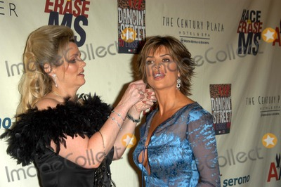 Nancy Davis, Lisa Rinna Photo - Nancy Davis and Lisa Rinna at the 10th Annual Race To Erase MS, Century Plaza Hotel, Century City, CA 05-09-03