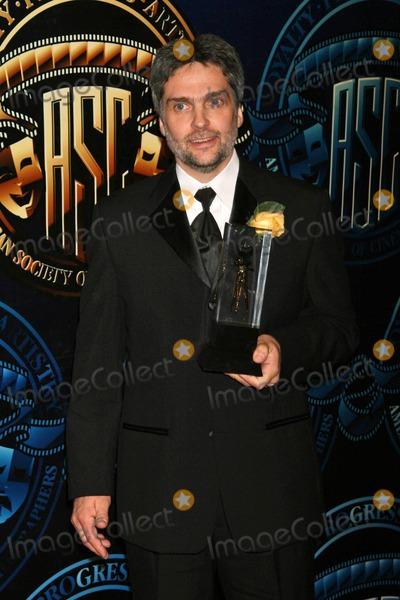 Photo - David Moxnessat the American Society of Cinematographers 21st Annual Outstanding Achievement Awards. Hyatt Regency Century Plaza Hotel, Century City, CA. 02-18-07