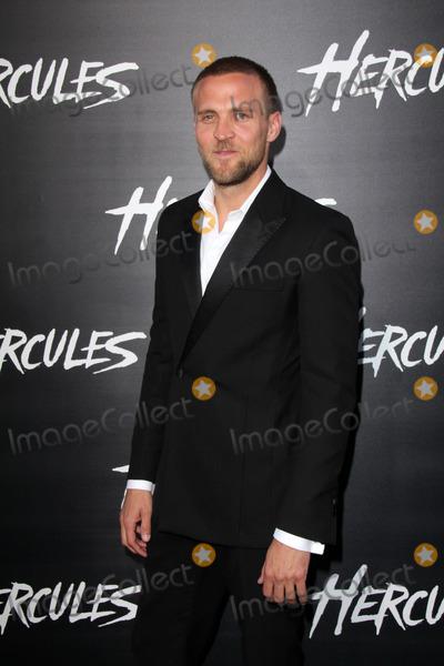 "Tobias Santelmann Photo - Tobias Santelmann at the ""Hercules"" Los Angeles Premiere, TCL Chinese Theater, Hollywood, CA  07-23-14"