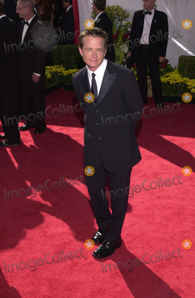 Michael J. Fox, Michael J Fox, Michael Bublé, Michael Paré Photo -  Michael J. Fox at the Primetime Emmy Awards held at the Shrine Auditorium. 09-10-00