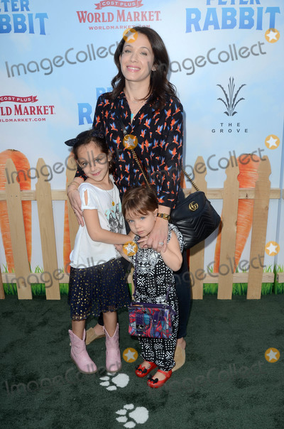 "Marla Sokoloff, Peter Rabbit, Peter André Photo - Marla Sokoloff at the ""Peter Rabbit"" Premiere, Pacific Theaters at The Grove, Los Angeles, CA 02-03-18"