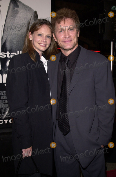 """Andrew Stevens, Robyn Photo -  Andrew Stevens and wife Robyn at the premiere of Warner Brothers """"Get Carter"""" in Westwood, 10-04-00"""