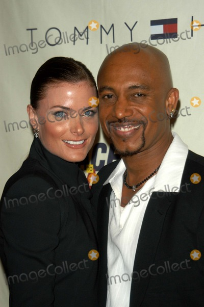 Montel Williams, Tara Westwood, MONTELL WILLIAMS Photo - Montel Williams and Tara Westwood at the 10th Annual Race To Erase MS, Century Plaza Hotel, Century City, CA 05-09-03