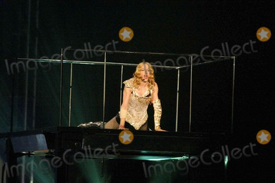 "Madonna Photo - Madonna at the opening night of Madonna's ""Reinvention Tour - 2004"" at The Forum, Inglewood, CA. 05-24-04"