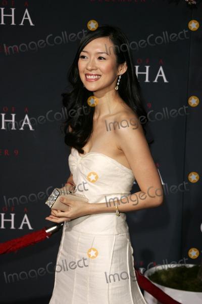 "Ziyi Zhang Photo - Ziyi Zhangat the premiere of ""Memoirs Of A Geisha"". Kodak Theatre, Hollywood, CA. 12-04-05"