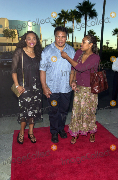 """Muhammad Ali, Ali Farka Touré Photo -  Muhammad Ali and Meme and Hannah at the premiere of """"Original Kings of Comedy"""" in Hollywood. 08-10-00"""
