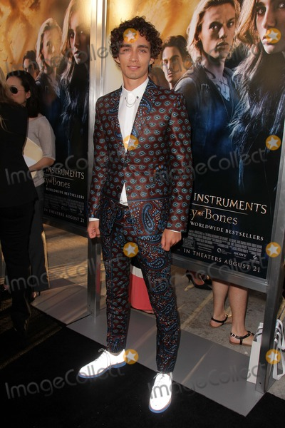 """Photos and Pictures - Robert Sheehan at the """"The Mortal ..."""