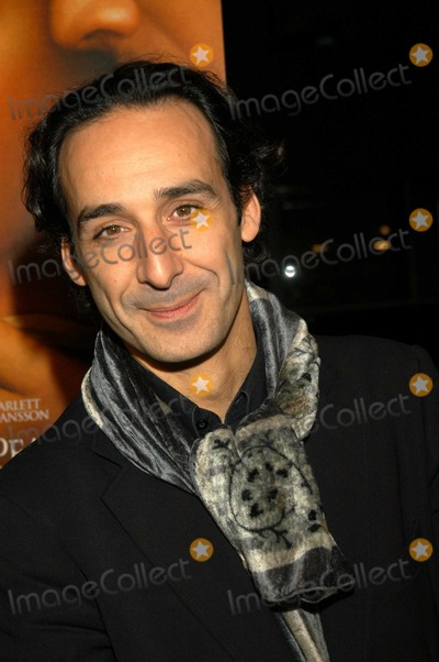 "Alexandre Desplat Photo - Alexandre Desplat at Los Angeles Premiere of ""Girl With A Pearl Earring"", The Academy of Motion Picture Arts and Sciences, Beverly Hills, Calif., 12-10-03"