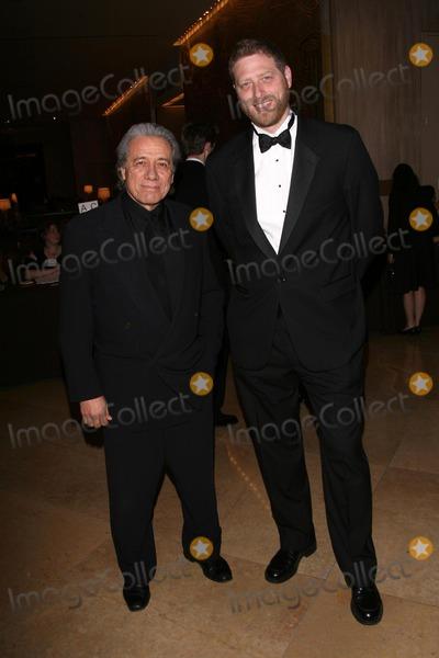 Edward James Olmos, Andrew Seklir Photo - Edward James Olmos and Andrew Seklirat the 59th Annual ACE Eddie Awards. Beverly Hilton Hotel, Beverly Hills, CA. 02-15-09