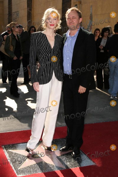 Andrew Upton, Cate Blanchett, CATE BLANCHETTE, The Ceremonies Photo - Cate Blanchett and Andrew Upton  at the ceremony honoring Cate Blanchett with the 2,376th star on the Hollywood Walk of Fame. Hollywood Boulevard, Hollywood, CA. 12-05-08