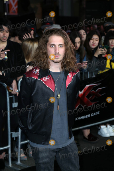 """XX, Andrew Watt Photo - Andrew Watt at the """"xXx: Return Of Xander Cage"""" Premiere, TCL Chinese Theater IMAX, Los Angeles, CA 01-19-17"""