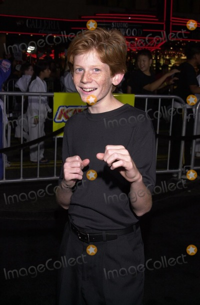 """Austin Stout Photo - Austin Stout at the premiere of Dreamwork's """"The Tuxedo"""" at Grauman's Chinese Theater, Hollywood, 09-19-02"""
