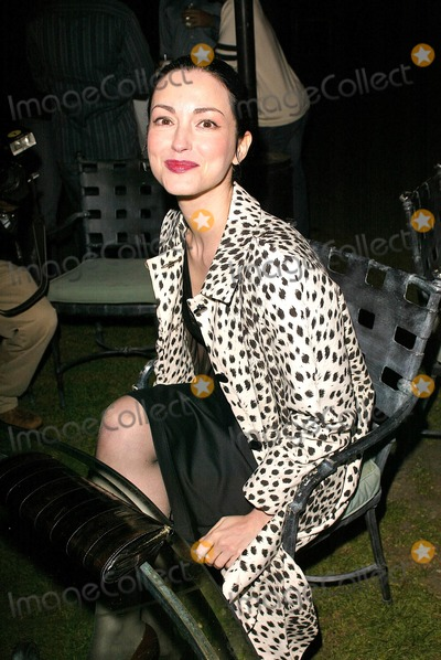 """Julie Dreyfus, The Kills Photo - Julie Dreyfus at the """"Kill Bill Vol. 1"""" Video Release Party at the Playboy Mansion, Beverly Hills, CA 04-12-04"""