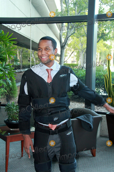 Amiel Photo - Amiel Traynum vetting the new Gravity Suit for Injured Athletes, Private Location, Los Angeles, CA 01-08-15